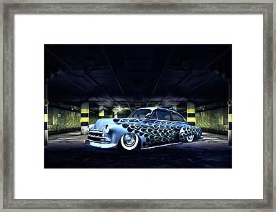 Slammed Framed Print by Steven Agius