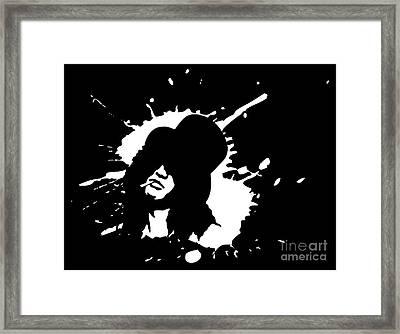 Slash N.01 Framed Print by Caio Caldas