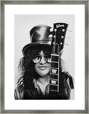 Slash Framed Print by Robert Bateman