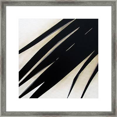 Slash Framed Print by Slade Roberts