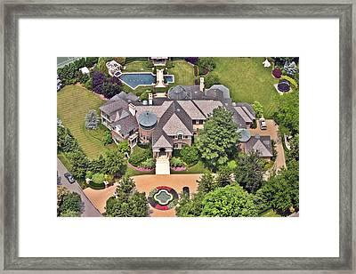 Slate Roof Gladwyne Framed Print by Duncan Pearson