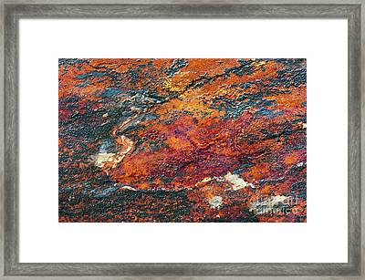 Slate Tones Framed Print by Tim Gainey