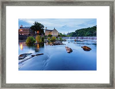 Slater Mill Framed Print