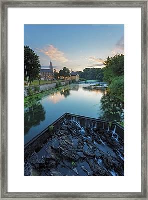 Slater Sunrise Framed Print