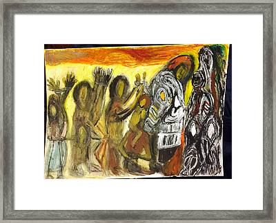 Slave Chain Framed Print