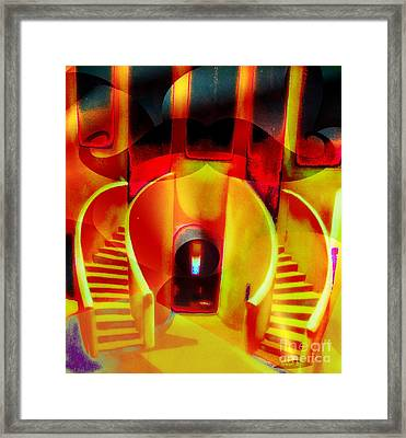 Slave House In Goree Island Framed Print by Fania Simon