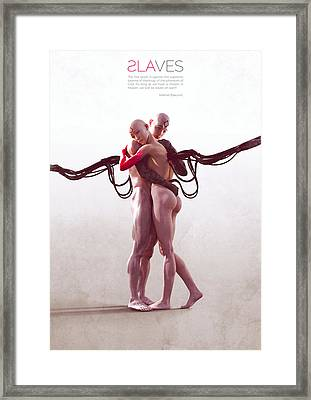 Slaves Framed Print