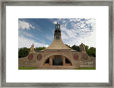 Framed Print featuring the photograph Slavkov Peace Memorial by Michal Boubin