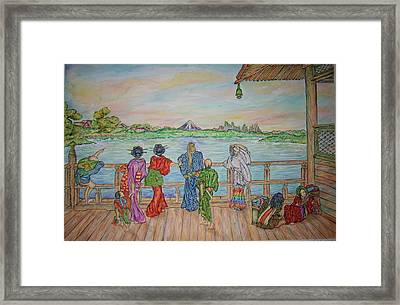 Slay The Pop Framed Print by Joseph Lawrence Vasile