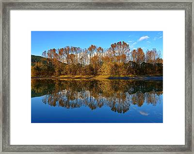 Fraser River Arm  Framed Print