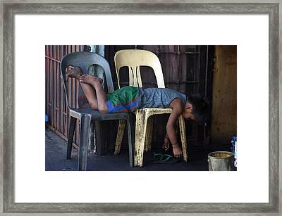 Sleep 3 Framed Print by Jez C Self