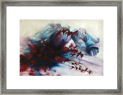 Sleep Framed Print by Barbara Agreste