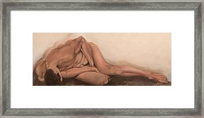 Sleep Framed Print by Jane  Simpson