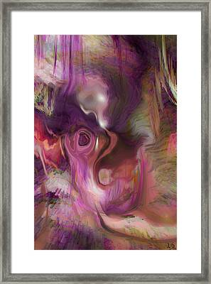 Sleep Of No Dreaming Framed Print by Linda Sannuti
