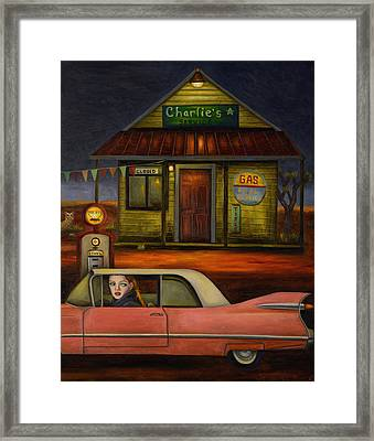 Sleep Walker 2 Framed Print by Leah Saulnier The Painting Maniac