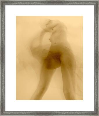 Framed Print featuring the photograph Sleep Walker 2 Variation by Joe Kozlowski