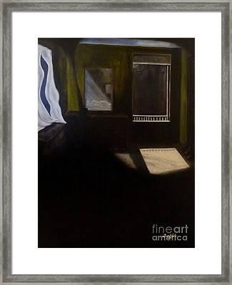 Sleeping Alone Framed Print