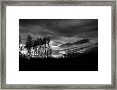 Sleeping Artist Framed Print