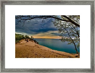 Sleeping Bear Dunes Framed Print