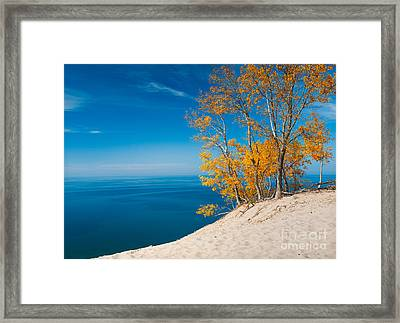 Sleeping Bear Dunes Vista 002 Framed Print