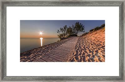 Sleeping Bear Solstice Framed Print