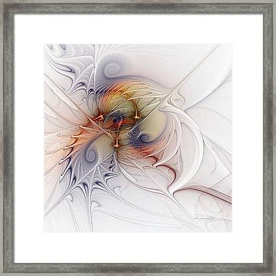 Framed Print featuring the digital art Sleeping Beauties by Karin Kuhlmann