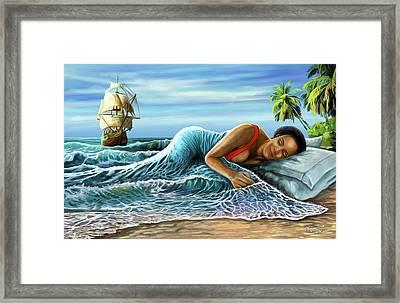 Sleeping Beauty Framed Print by Anthony Mwangi