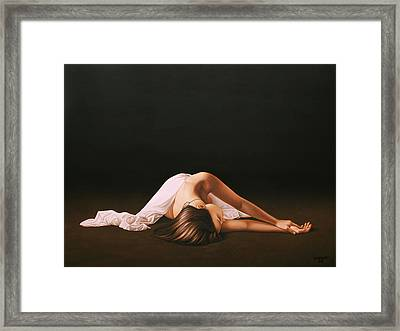 Sleeping Beauty Framed Print