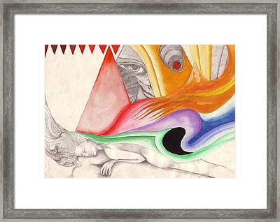 sleeping beauty I Framed Print by Amrei Al-Tobaishi-Jarosch