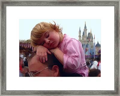 Sleeping Beauty Framed Print by Lori Enyart