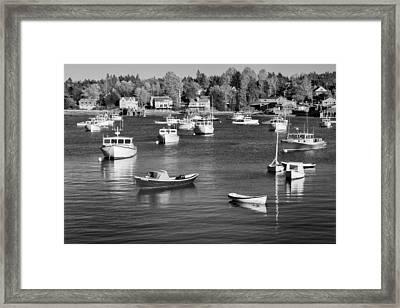 sleeping boats II Framed Print by Jon Glaser