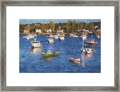 Sleeping Boats IIi Framed Print