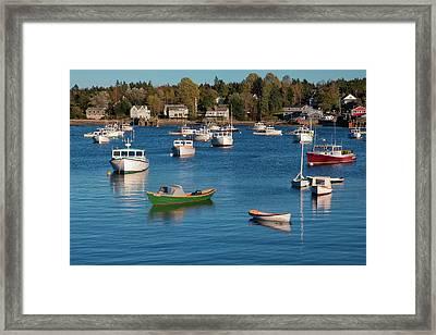 Sleeping Boats Framed Print