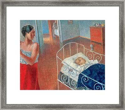 Sleeping Child Framed Print
