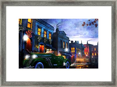 Sleeping City Framed Print