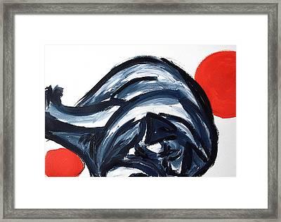 Sleeping Dog Framed Print by Lidija Ivanek - SiLa