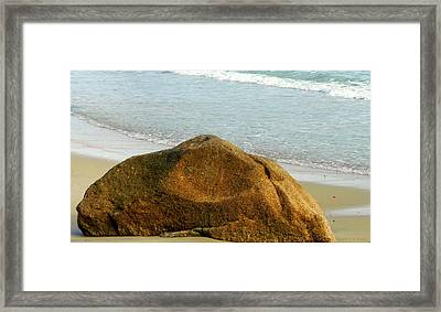 Sleeping Giant At Marthas Vineyard Framed Print