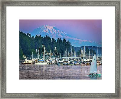 Sleeping Giant Framed Print by Inge Johnsson