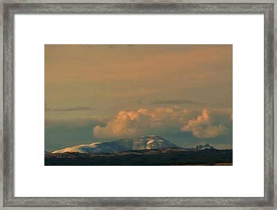 Framed Print featuring the photograph Sleeping Giant Near Helena Montana by Kae Cheatham