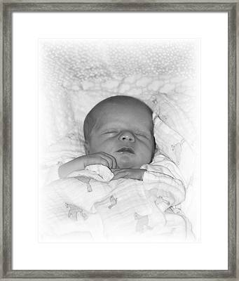 Sleeping Girl Framed Print