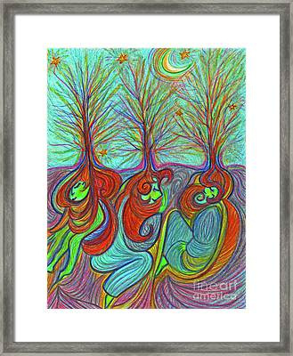 Sleeping Grove By Jrr Framed Print by First Star Art