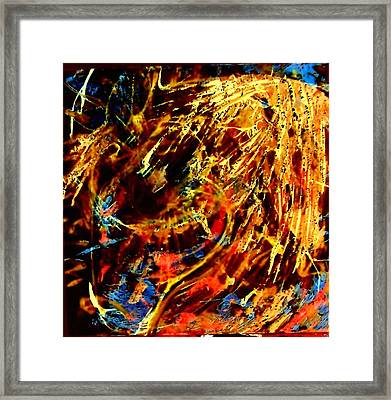 Sleeping In The Sun Framed Print