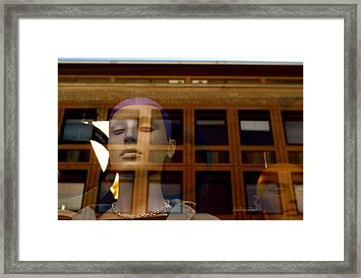 Sleeping On The Job Framed Print by Jez C Self