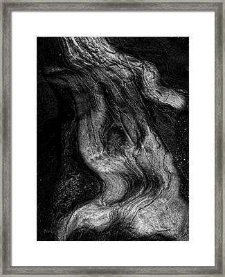 Sleeping Rocks Framed Print