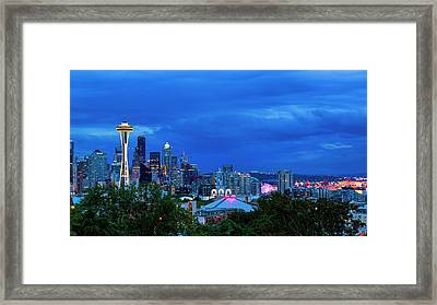 Sleepless In Seattle Framed Print