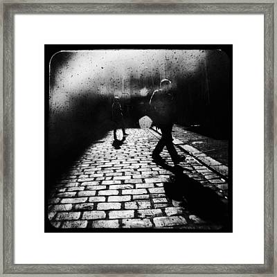 Sleepwalking Framed Print by Andrew Paranavitana