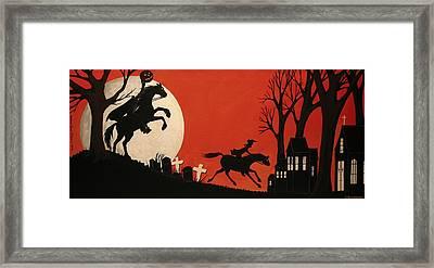 Sleepy Hollow - Artist Folkartmama Framed Print