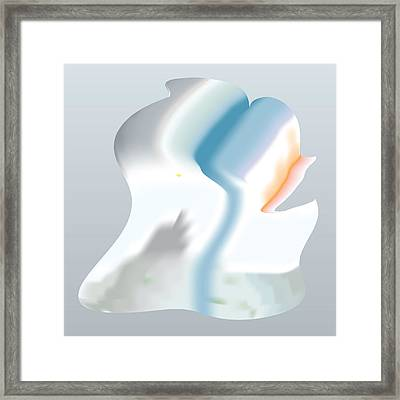Sleestak Daydream Framed Print by Kevin McLaughlin