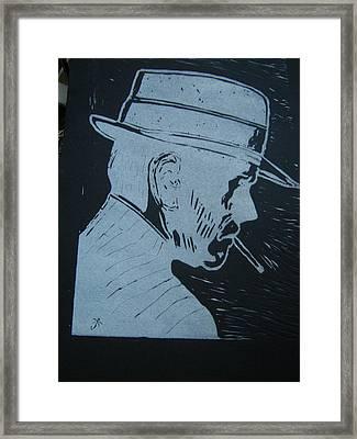 Sleuth Framed Print by Joseph Kozenczak