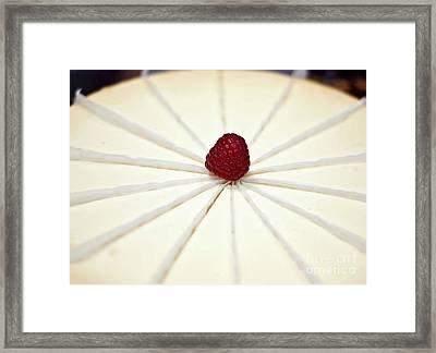 Slice It Up Framed Print